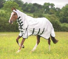 NEW Shires Sweet Itch Fixed Neck Combo Horse Fly Midge Horse Rug Hoody + Belly