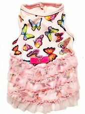 **Brand New** Dog Clothes Ruff Ruff Couture Fairytale Butterfly Dress