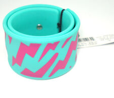 Marc by Marc Jacobs Multi Color Stripe Rubber Bracelet