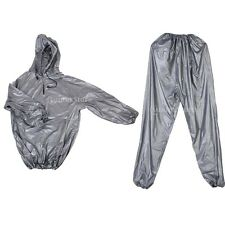 Heavy Duty SWEAT SAUNA SUIT Exercise Gym Fitness Weight Loss Slimmer Slimming