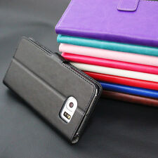For HTC & Motorola Series Magnetic Flip Card Slot Wallet Leather Case Cover