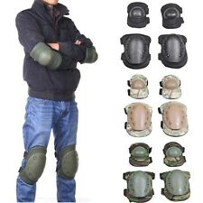 Military CS Tactical Luxury Elbow Pads Knee Pads Brace Airsoft Skating Skiing