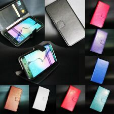 Luxury Wallet PU Leather Flip Card Slot Cover For Nokia & Sony Series Phone Case