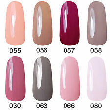 Any Colors Soak Off Nail Art Lacquer UV Gel Nail Polish Base Top Coat Manicure