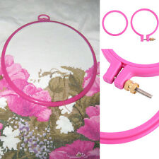 Plastic Embroidery Hoop Ring Sewing Fabric Craft Tool Cross Stitch / Embroidery