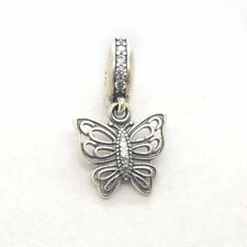 Authentic S925 Silver Love Takes Flight Clear Cz Dangle Charm