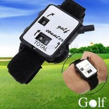 Mini Black Wristband Golf Sports Club Stroke Score Counter Keeper Shot Scorer