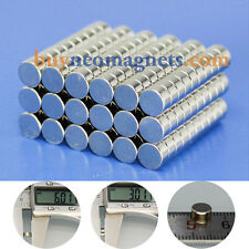 N42 6mmx3mm Super Strong Disc Magnets Rare Earth Neodymium Round Magnets Sale UK