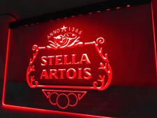 Stella LED Sign On/Off Switch Bar Pub man cave Beer Neon light sign room decor
