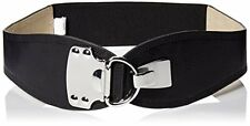 Steve Madden Womens Belts SM35457 Stretch Belt W/ Metal- Choose SZ/Color.