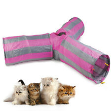 Cat Pet Play Tunnel Toy Kitten Fun Rabbit Pop Up Puppy Exercise Cave Way