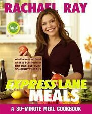 Rachael Ray Express Lane Meals:30 Minute Meals PB Very Good Free Shipping
