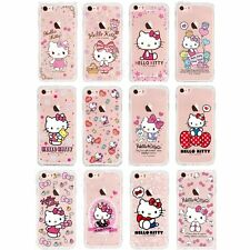 Hello Kitty Genuine Soft Gel Case High Protection Clear for iPhone 7 / 7 Plus UK