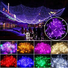 10/20M 100/200 LED Fairy String Lights Lamp Garden Decor Christmas Party Xmas