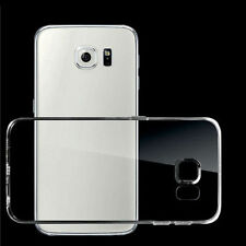 Soft Silicone TPU Ultra Thin Clear Transparent Cover Case For Samsung Galaxy AU