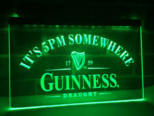 Guinness Neon Sign Beer Bar Pub LED Sign On/Off man cave wall decor mens gift