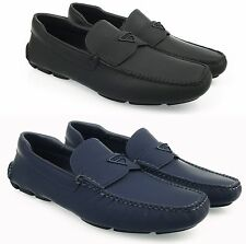 PRADA Moccasins loafers £450 MEN'S SHOES MADE IN ITALY 100%AUTENTHIC cs16uk