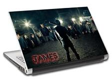 The Walking Dead 7 Negan Personalized LAPTOP Skin Vinyl Sticker ANY NAME L302