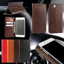 Phone Case For Smart Phone Genuine Real Leather Cover Flip Card Holder Wallet