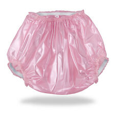 Pink ABDL Plastic Pants (PVC) for Adult Baby Diapers & Nappy AB/DL & DDLG Sissy