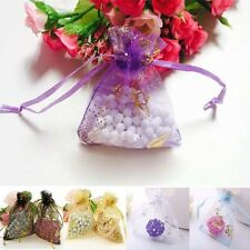 25/50100Pcs 7x9cm Butterfly Organza Wedding Gift Bag Pouch Candy Jewelry Package