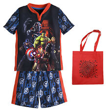 Marvel Avengers: Age of Ultron Little Boys' Pajama Set & Tote - 3 Piece Gift Set
