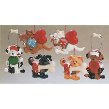 Silly Dog Ornaments