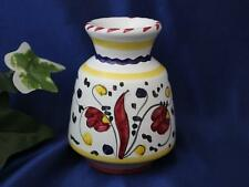 DERUTA ITALY Italian Pottery ORVIETO VASE RED Made in Italy
