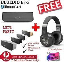 NEW Bluedio BS-3 Portable Bluetooth Speaker + FREE HT Bluetooth Stereo Headphone