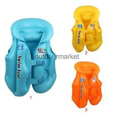 Inflatable Toy Swimming Pool Vest Kids Float Aid Jacket Baby Swim Training ACCS