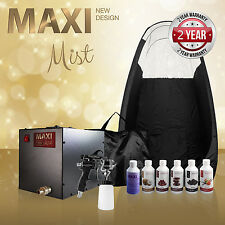 Maximist Ultra Premier - Complete Spray Tan kit Inc. Tent & Sunless Solution