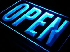 OPEN Neon sign Cafe Bar Pub rome Neon Light Sign On/Off Switch wall decor