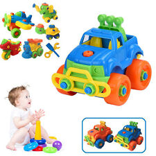 Animal Motorcycle Car Assembly DIY Toy Baby Children Outdoor Educational Toys