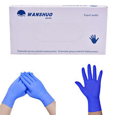 100pcs Disposable rubber work glove disposable pvc nitrile latex gloves