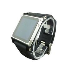 Multi-Touch WatchBand WristStrap For iPod Nano 6/6th Aluminum Case Silicon Belt