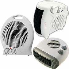 2kW PORTABLE SENTIK FLOOR SILENT ELECTRIC FAN HEATER HOT & COLD UPRIGHT 2000W