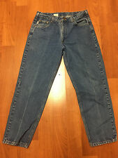 CARHARTT Relaxed fit 5 pocket blue jeans Mens 35 X 30