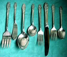 EVENING STAR BuY the Piece Oneida 1950 Community Silverplate Flatware