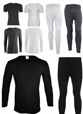 Mens Thermal Long Johns Short Sleeve T-Shirts Winter Underwear 2XL-6XL BIG Sizes
