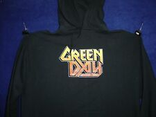 Green Day Metal Monster logo Hoodie small