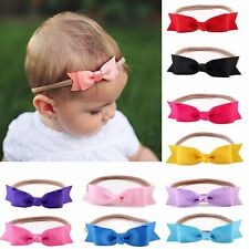 Cute Kids Baby Girl Toddler Cute Bow Knot Stretch Hair Band Headband Accessories
