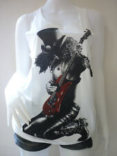 Gun N' Roses Slash US Rock Band Sexy Tank Top Dress Vest Tunic T-Shirt Size M L