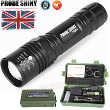 Super Bright 6000Lm CREE XM-L T6 LED Adjustable Focus Flashlight Zoomable Torch