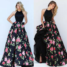 New Bridesmaid Prom Ball Gown Formal Evening Party Cocktail Long Boho Maxi Dress
