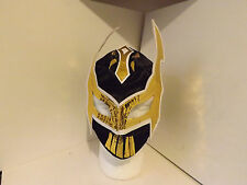 Kids Black & Gold Sin Cara Replica Wrestling mask. (lucha Libre Wwe Wwf Tna)