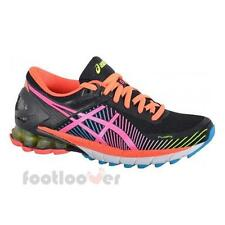 Shoes Asics Gel Kinsei 6 t692n 9034 Woman Sneakers Running Black Hot Pink Flash
