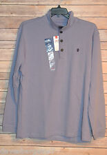 MENS LARGE IZOD SALTWATER RELAXED CLASSICS NAUSET LIGHT FLEECE FADED VIOLET