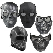 Military Army Mask Tactical Paintball Full Face Airsoft Skeleton Skull Mask