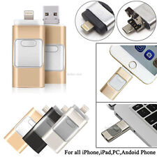 i-Flash iFlash Drive USB Memory Stick HD U-Disk 3 in 1 for Android/ios iPhone PC