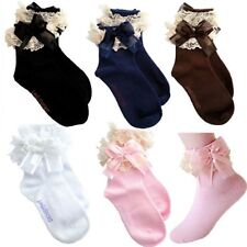 New Baby Cute Girls Lace Ruffle Frilly Ankle Socks Sweet Princess Short Socks
